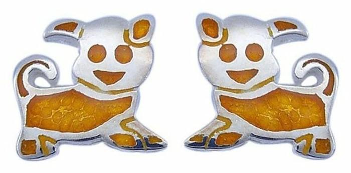 bijou-enfant-boucles-d-oreilles-chiens-jaunes-resized