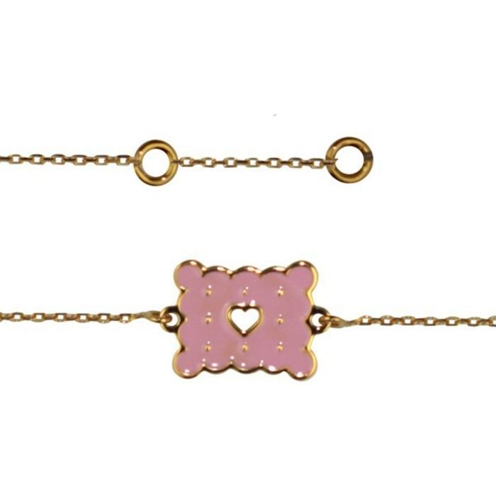 bijou-enfant-bracelet-biscuit-laque-rose-Terredebijoux-com-resized