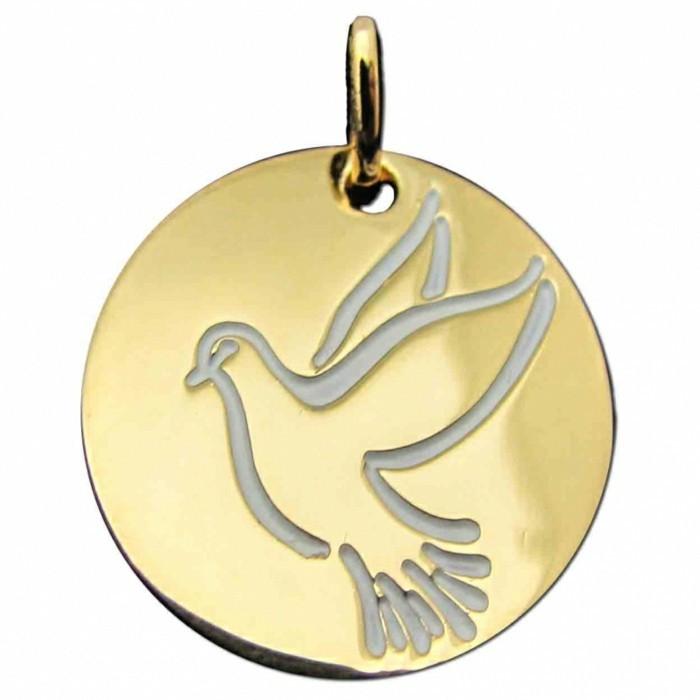 bijou-enfant-medaille-esperance-colombe-en-vol-berceaumagique-com-resized