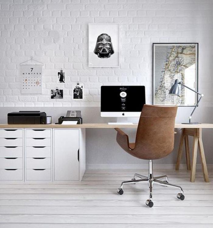 Quel bureau design voyez nos belles id es et choisissez - Petit bureau style scandinave ...