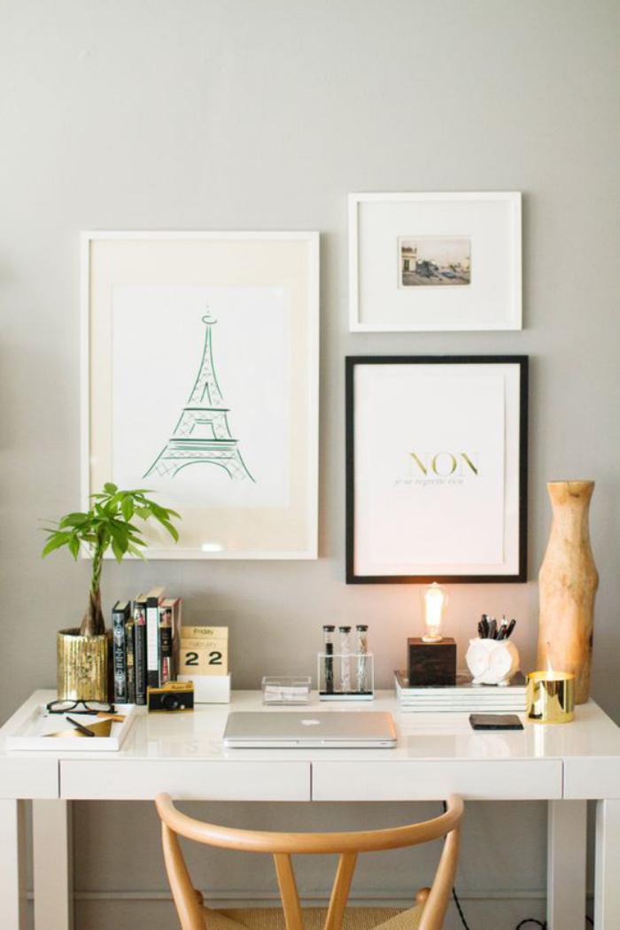 bureau-design-blanc-modèle-épuré-contemporain