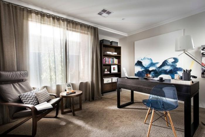 bureau-design-bureau-à-domicile-chaise-acrylique