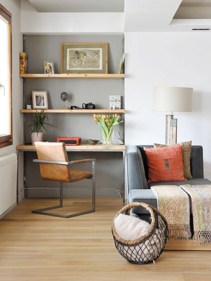 Quel bureau design voyez nos belles id es et choisissez for Coin bureau petit espace