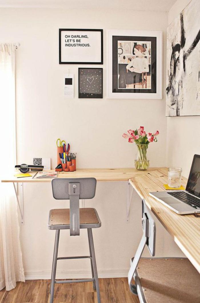 Quel bureau design voyez nos belles id es et choisissez le style de votre b - Petit bureau d angle ...
