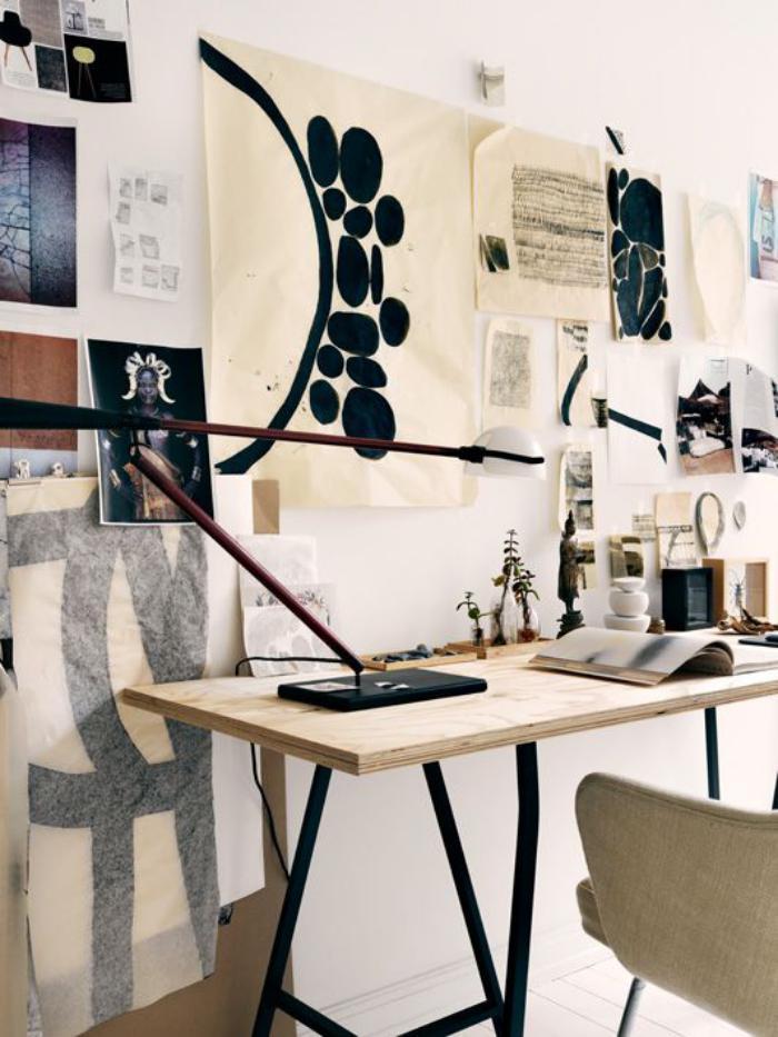 bureau-design-industriel-modèle-en-bois-et-fer