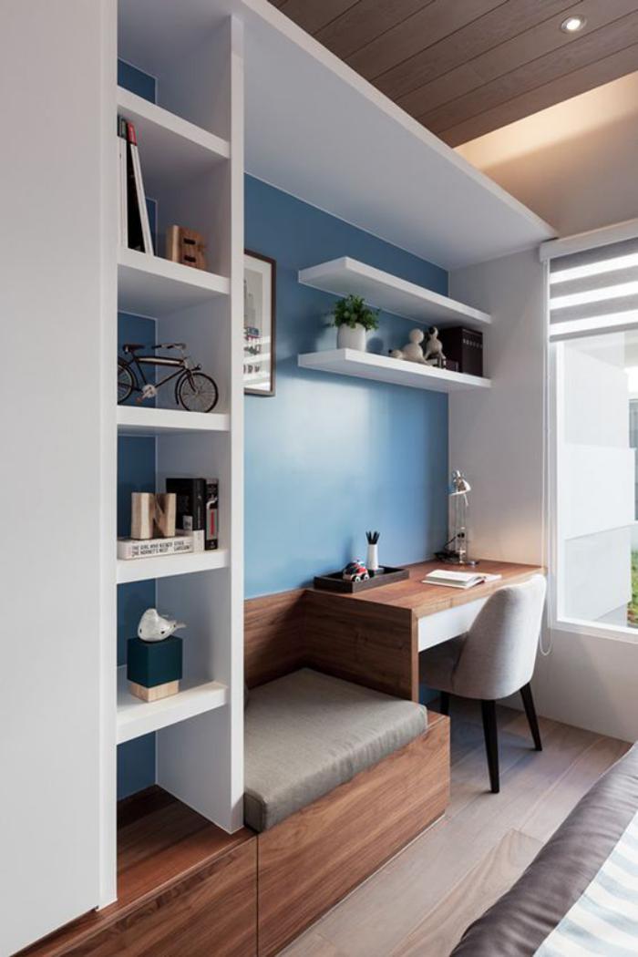 Quel bureau design voyez nos belles id es et choisissez - Meuble bureau bibliotheque ...