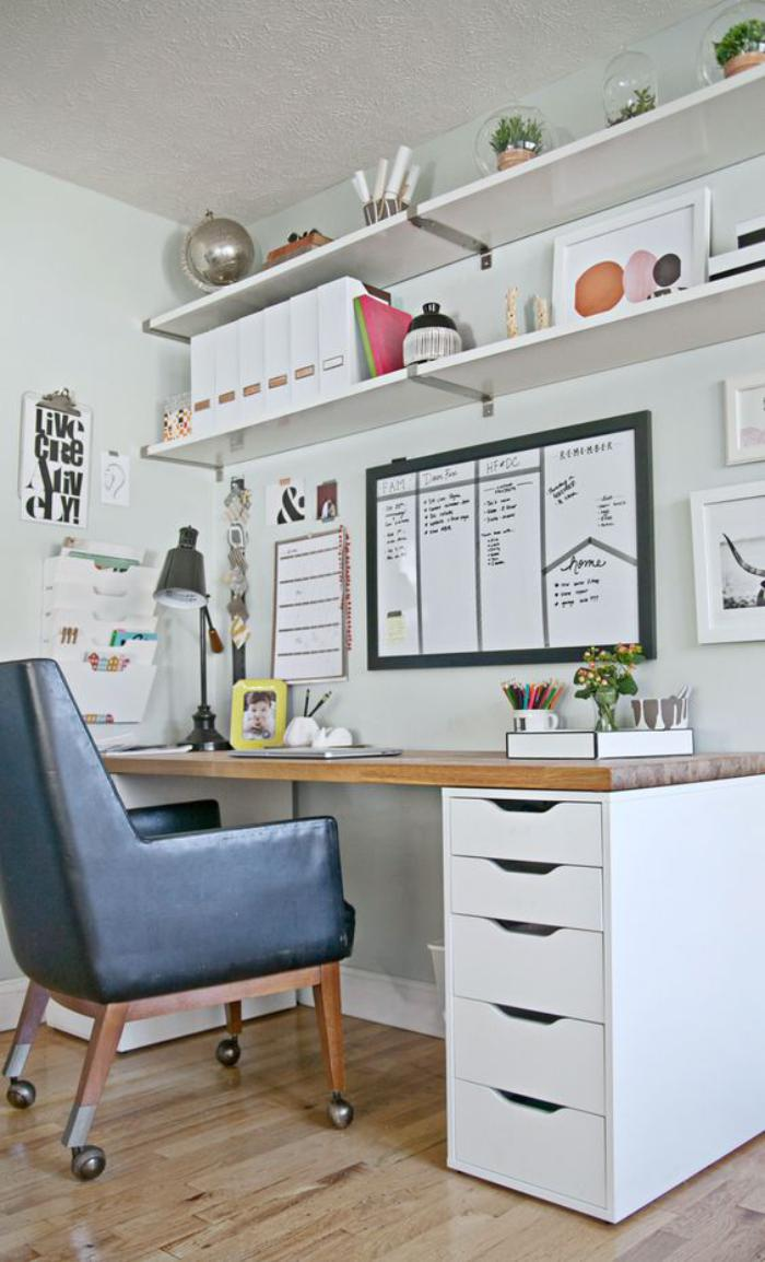 Quel bureau design voyez nos belles id es et choisissez for Meuble bureau avec tiroirs