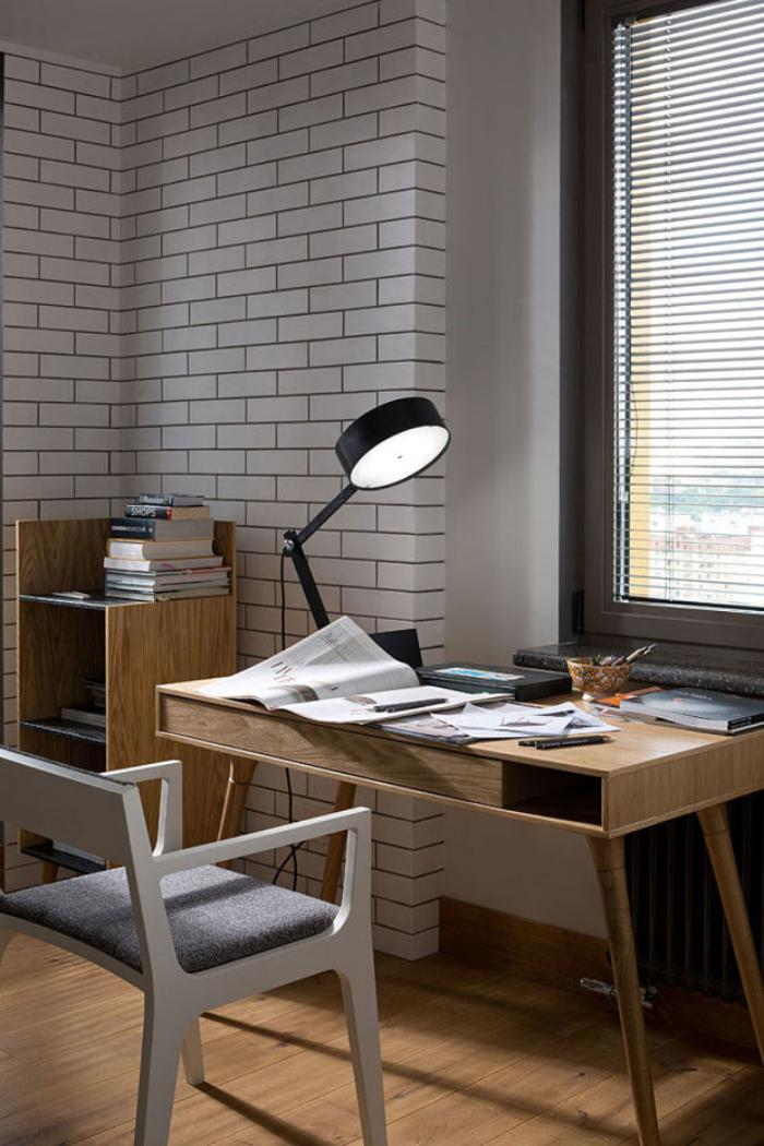 bureau-design-mid-century-lignes-pures-bureau-bois