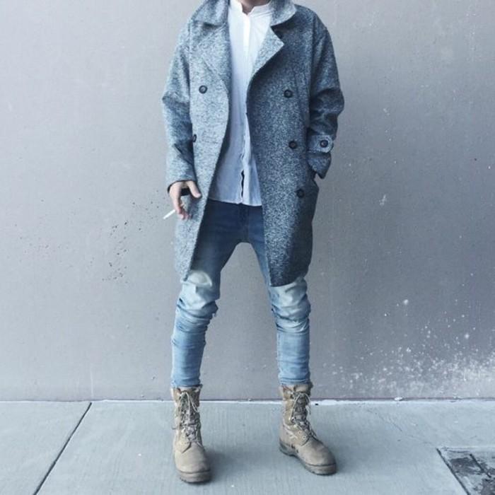 caban-homme-veste-matelassée-homme-mode-moderne