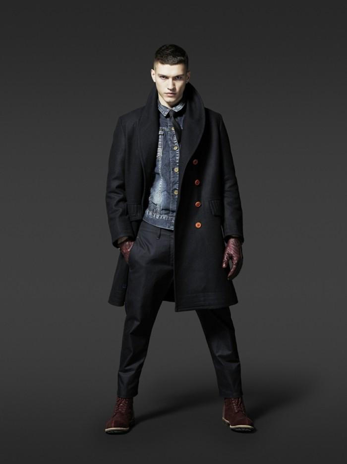 caban-homme-veste-matelassée-homme-mode-noir