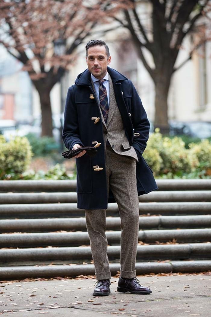 caban-homme-veste-matelassée-homme-mode