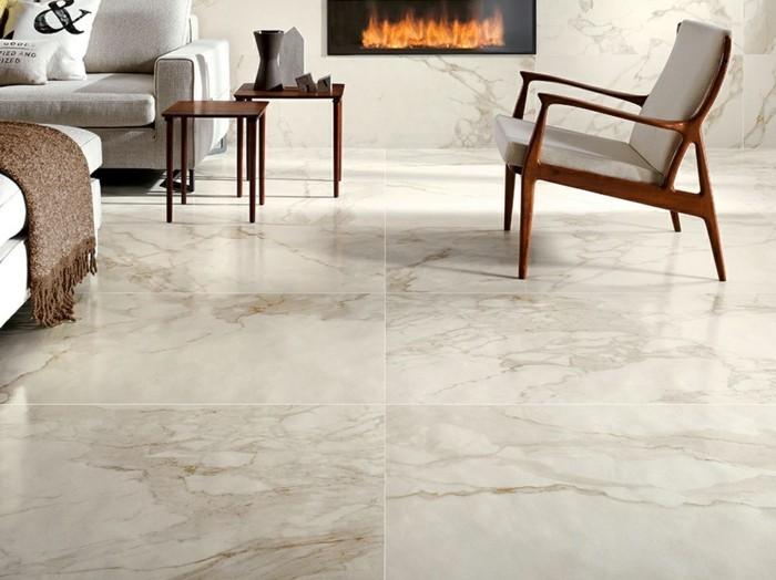 Carrelage brillant 51 id es et des conseils pratiques for Carrelage style marbre