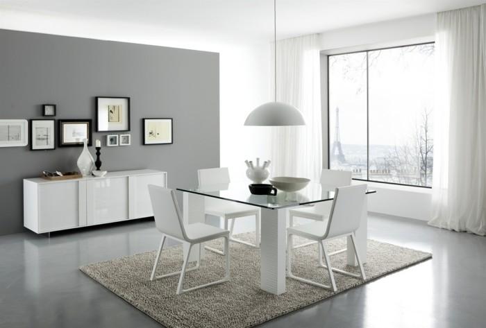 carrelage-brillant-salle-a-manger-avec-un-tapis-en-beige-resized