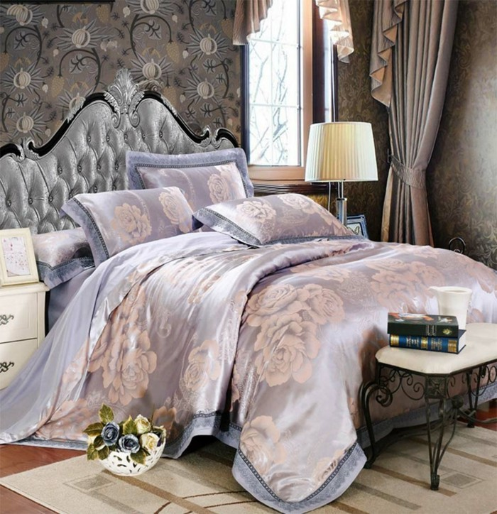 La chambre vintage 60 id es d co tr s cr atives - Chambre originale adulte ...