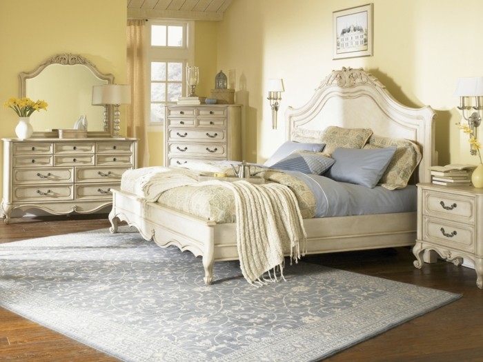 la chambre vintage 60 id es d co tr s cr atives. Black Bedroom Furniture Sets. Home Design Ideas
