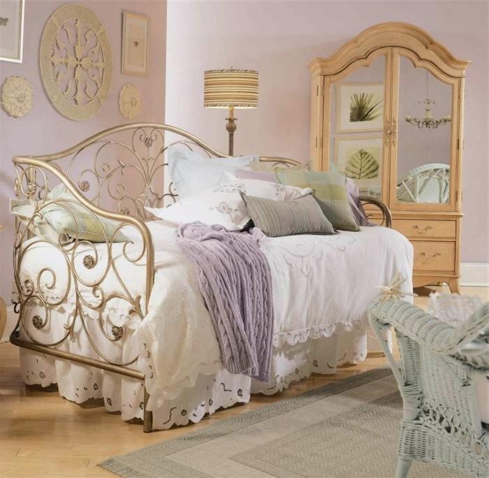 chambre-vintage-modèle-chambre-adulte-style-vintage-élégant-armoire-avec-tiroirs