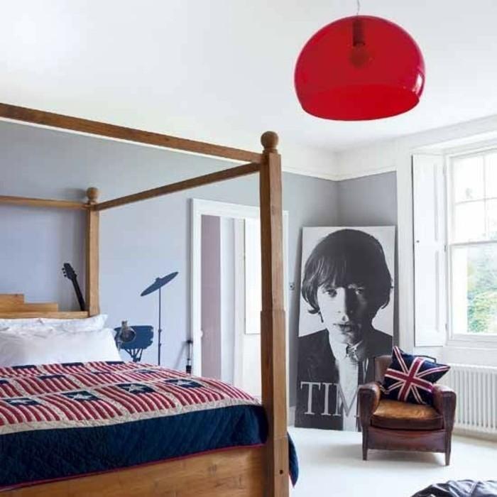 chambre-vintage-moderne-déco-chambr-pas-cher-brillante-idée-déco-vintage-style-british