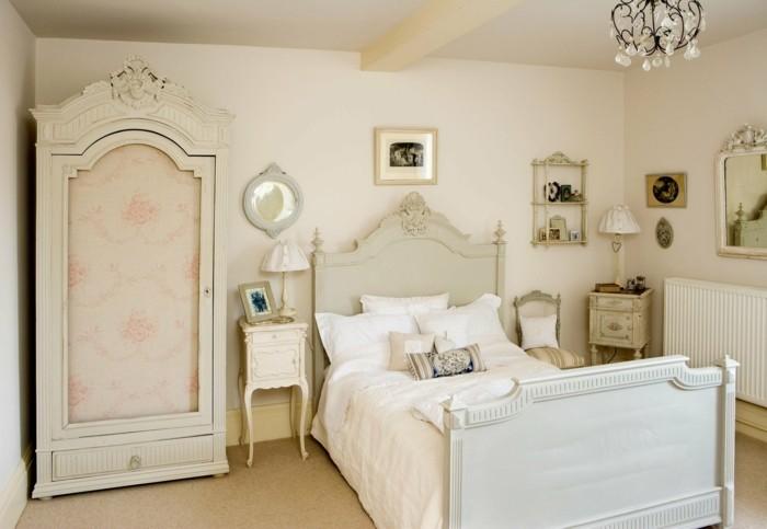chambre-vintage-style-retro-vintage-idée-déco-chambre-adulte-zen-décor-vintage-original