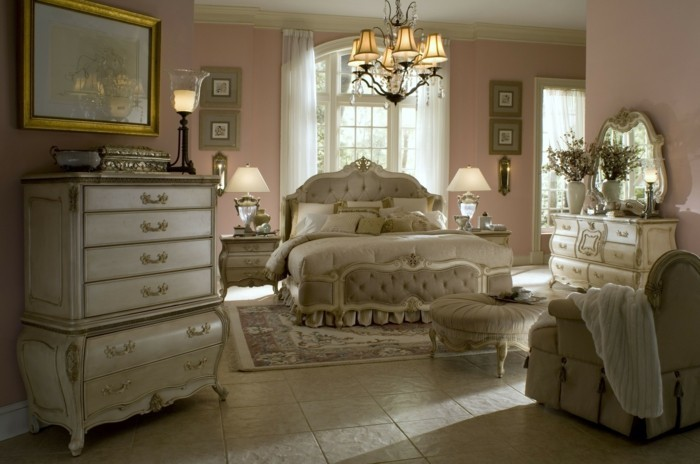 La chambre vintage 60 id es d co tr s cr atives for Modele chambre rose