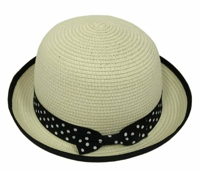 chapeau-enfant-fille-ruban-noir-a-pois-blancs-Amazon-resized