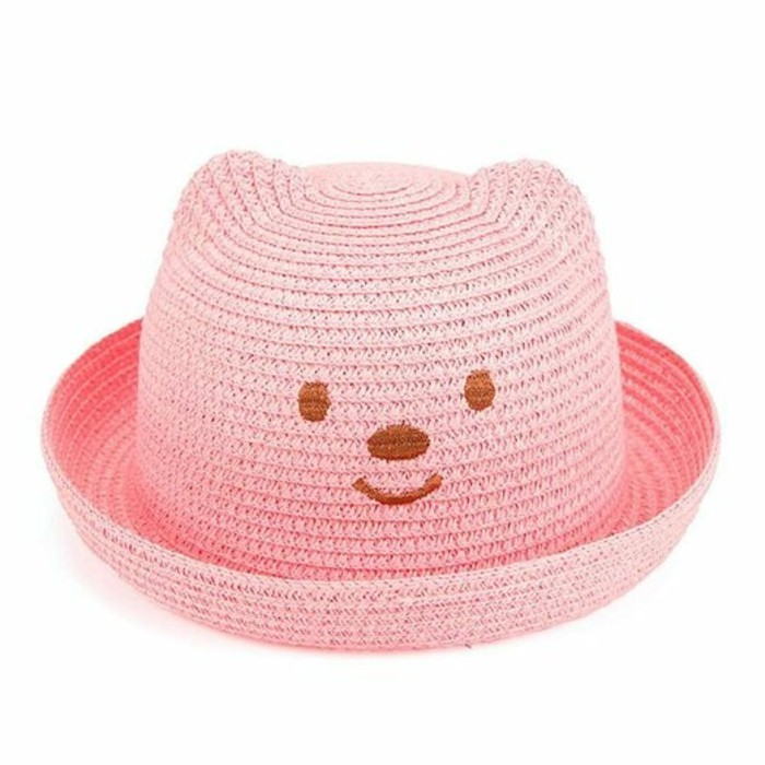 chapeau-paille-enfant-chaton-rose-Amazon.fr-resized