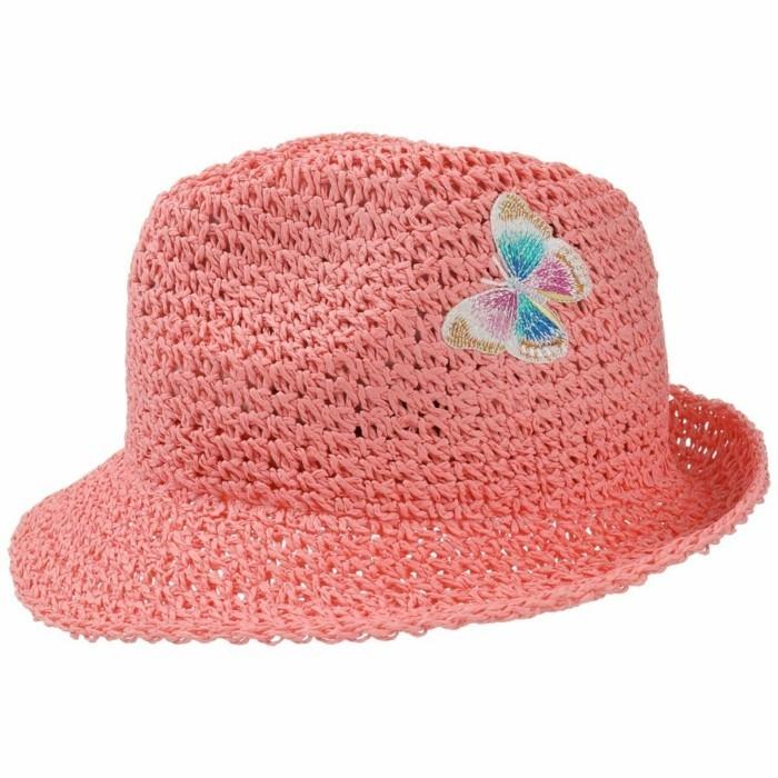 chapeau-paille-enfant-couleur-melon-au-papillon-en-paille-de-papier-Chapeaushop.fr-10-resized