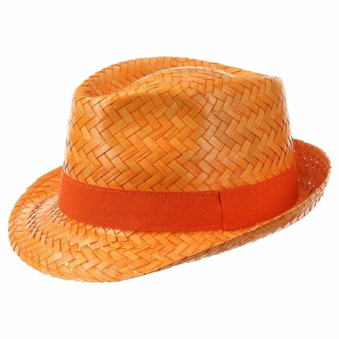 chapeau-paille-enfant-orange-brillant-Chapeaushop.fr-4-resized