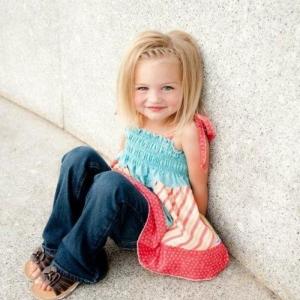 Les coiffures pour enfants tendance en 57 photos