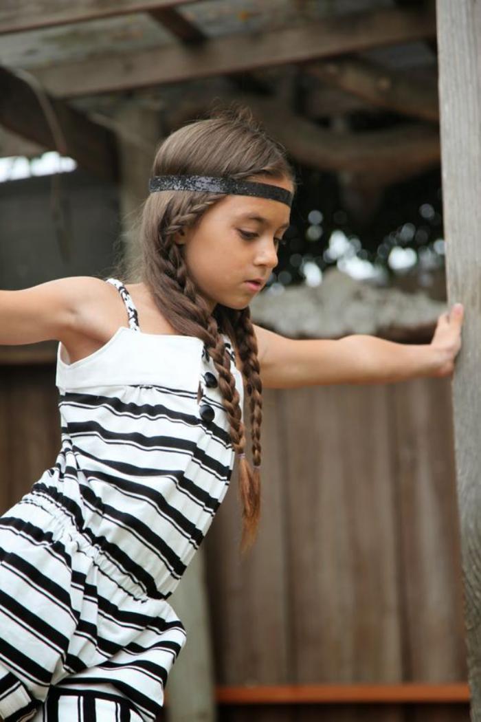 coiffures-pour-enfants-coiffure-tressée-style-hippie