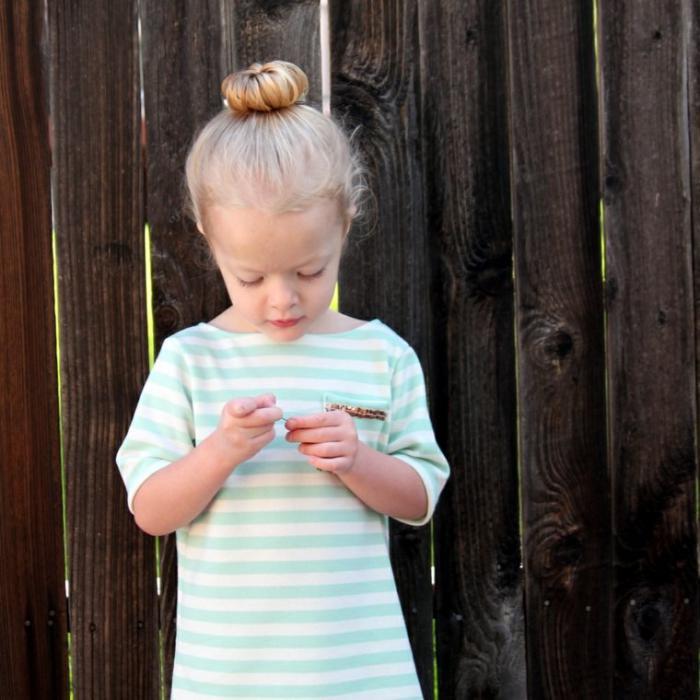 coiffures-pour-enfants-idée-chignon-petite-princesse