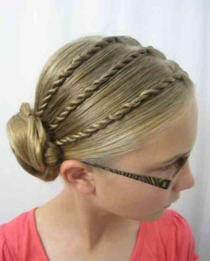coiffures-pour-enfants-idée-coiffure-élégante-pour-jeune-fille