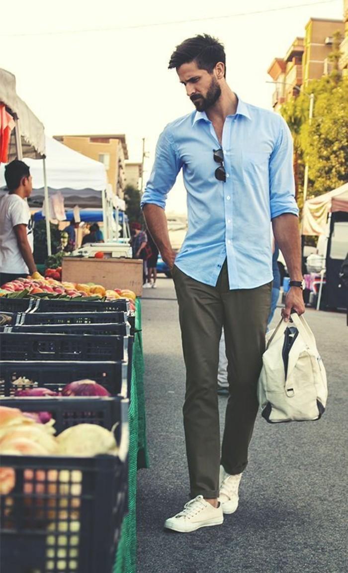 comment-porter-chemise-en-jeans-homme-mix