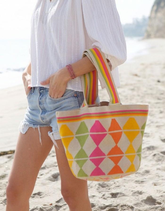 contemporain-sac-plage-cool-modèle-original-coloré