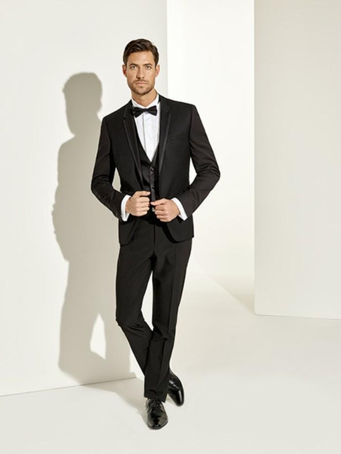 cool-idée-de-pointmariage-jolie-costume-noire-homme