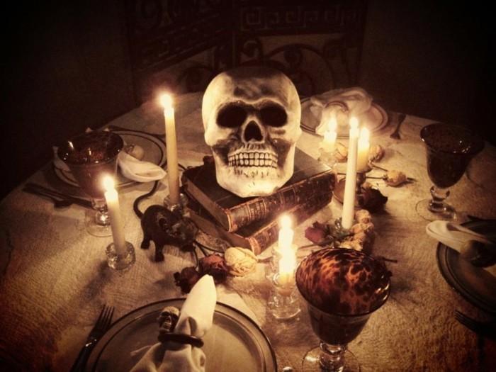 Déco Halloween Maison Deco Table Halloween Idee Deco