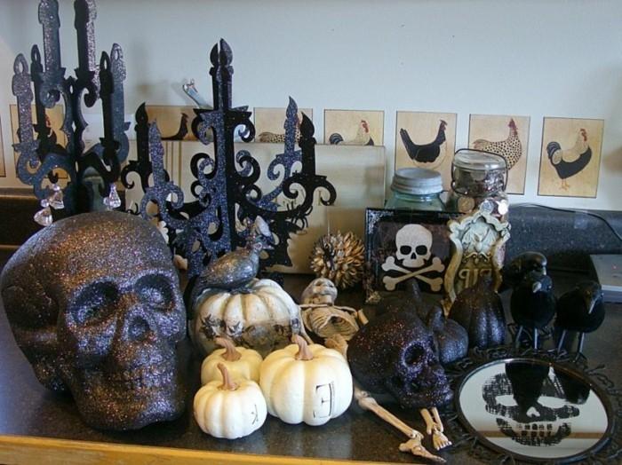 D co table halloween le guide ultime en 86 photos - Deco halloween maison ...