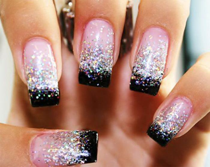 La d co nail art holographique en 62 images inspiratrices - Nail art ongle ...