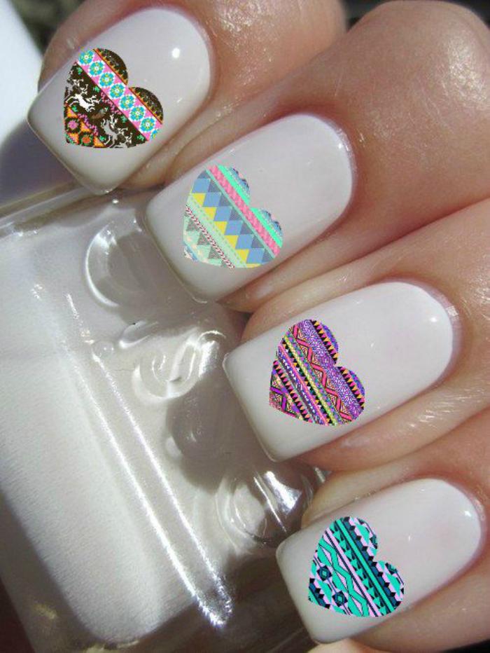 Invitez la couleur avec une belle d co ongles pour l 39 ete l 39 aide de notre galerie avec 100 for Comdecoration pour ongle