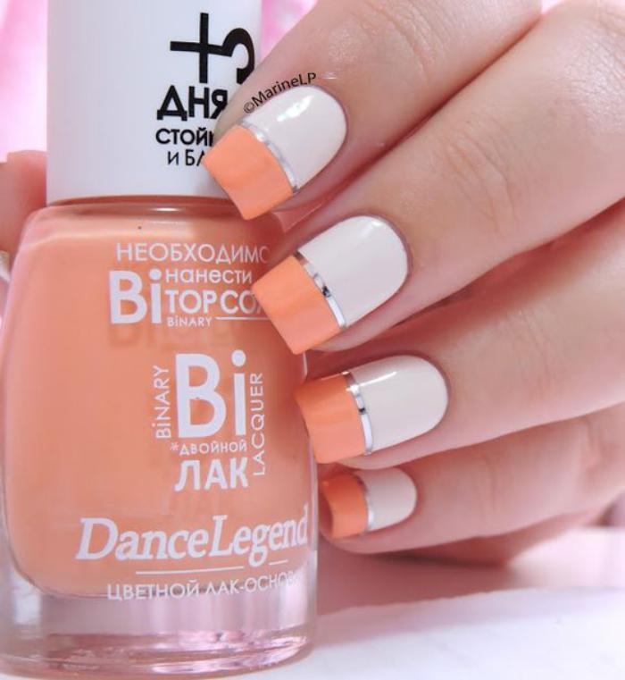 déco-ongles-bicolore-ongles-en-gel-déco
