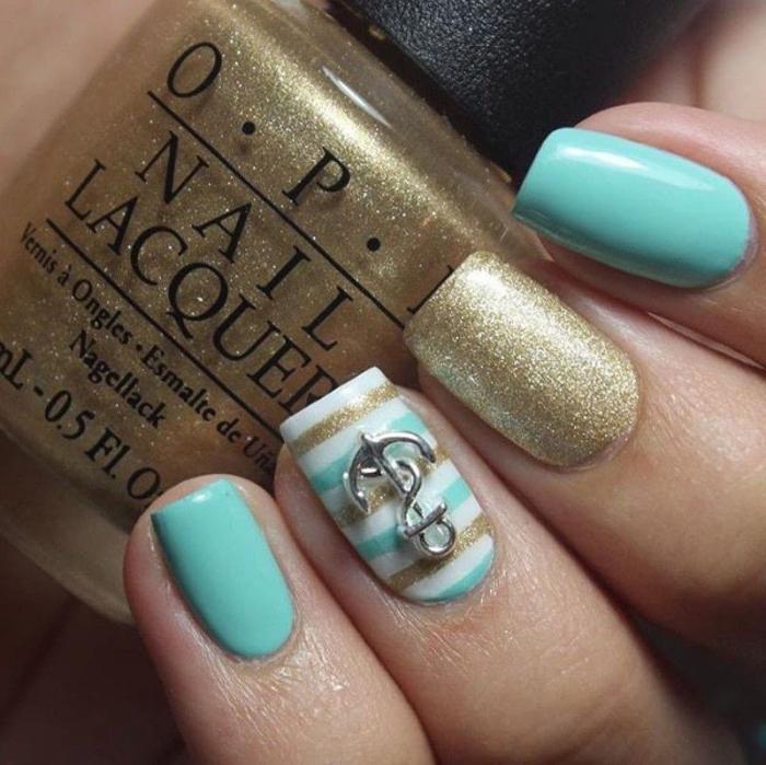 déco-ongles-manucure-nail-art-pailleté-avec-ancre