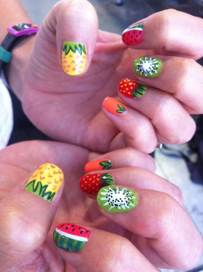déco-ongles-manucure-tendance-été-2016-fruits