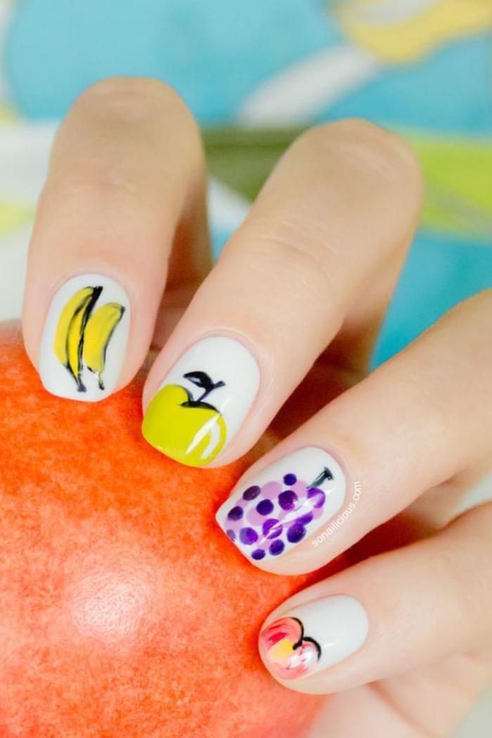 déco-ongles-ongles-déco-avec-des-fruits