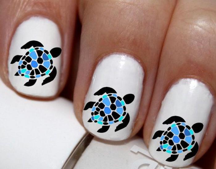 déco-ongles-originale-stickers-tortue-de-mer
