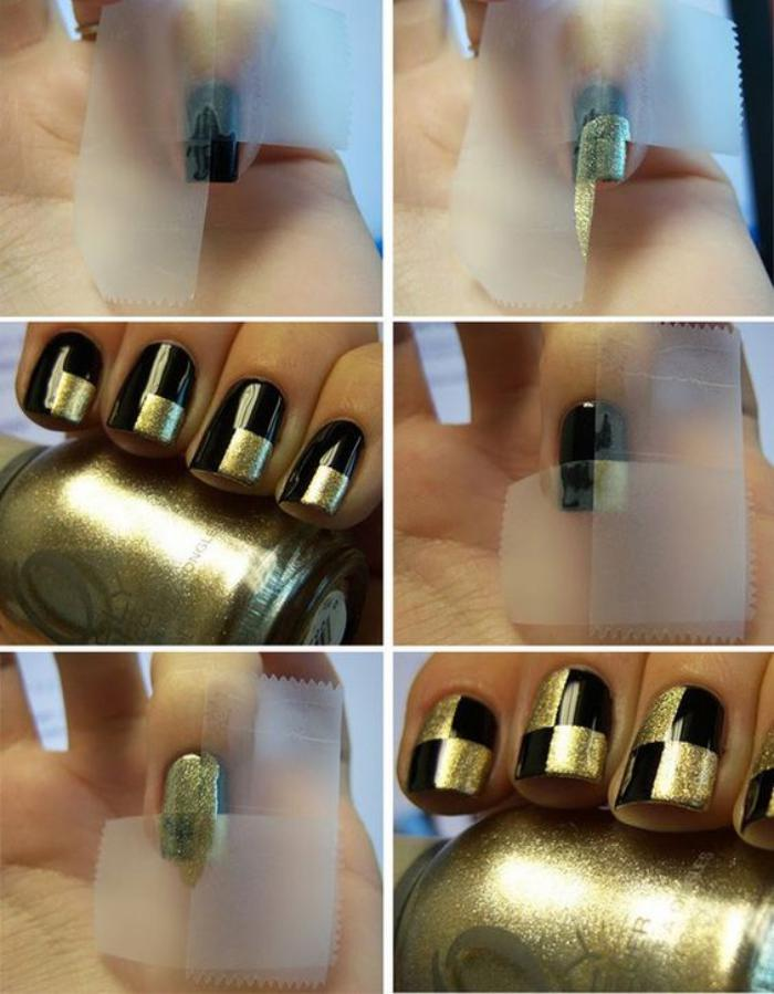 déco-ongles-originale-manucure-diy-bande-de-scotch