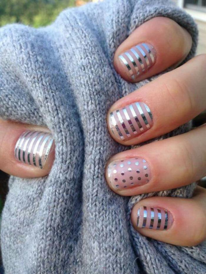 déco-ongles-originale-motifs-géométriques-et-simples-autocollants-ongles