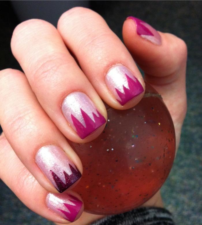 Deco Ongles Originale Nail Art Facile Avec Du Deco Ongles Originale La Manucure Au Scotch Et Striping Tape