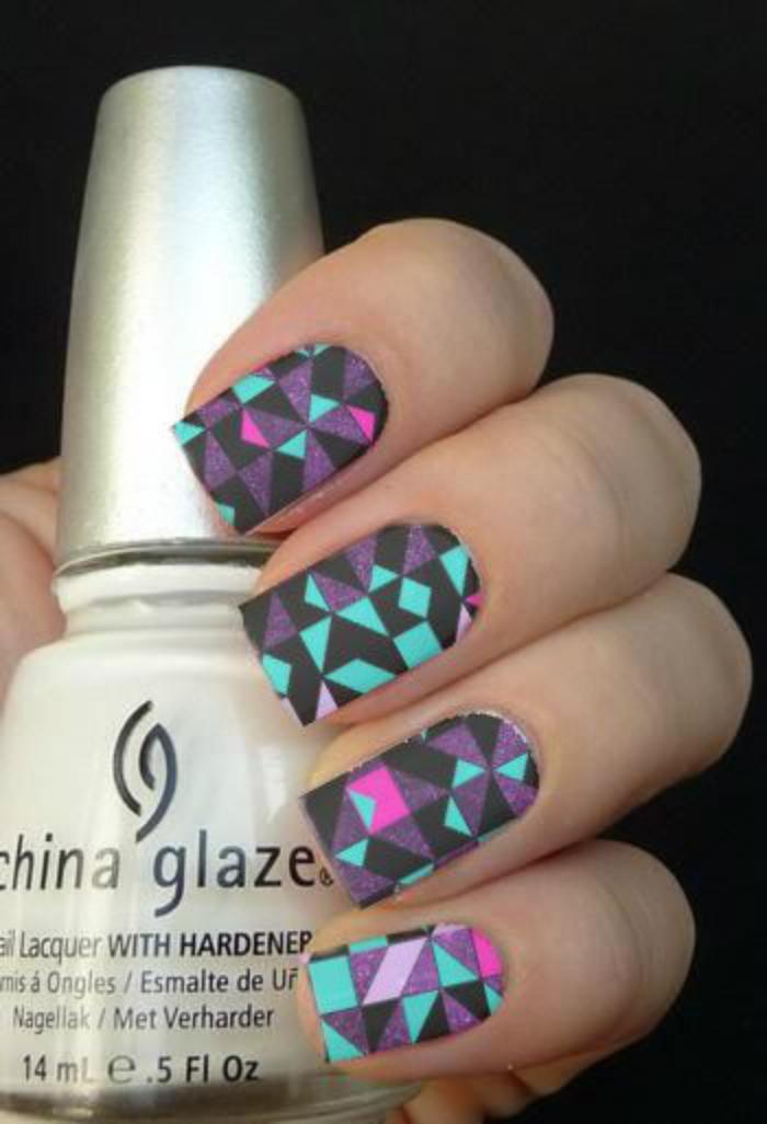 déco-ongles-originale-nail-patch-géométrique