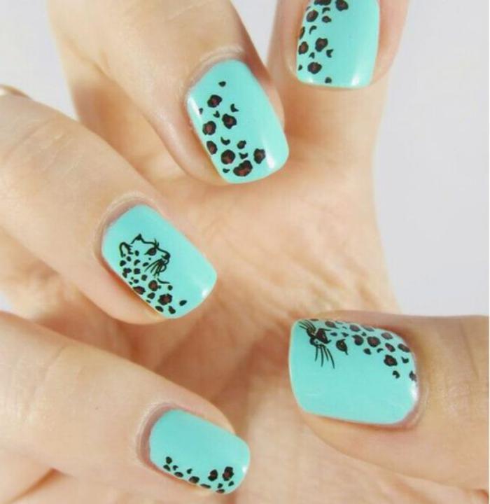 déco-ongles-originale-stickers-prints-léopards