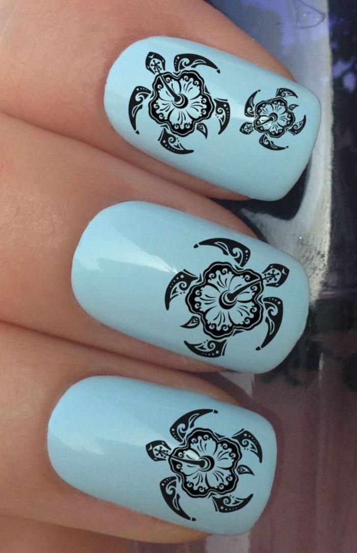 déco-ongles-originale-tortues-de-mer-stickers-ongles
