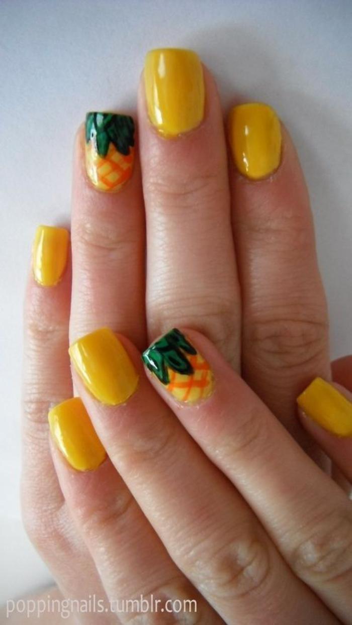 déco-ongles-sublime-printemps-été-nail-art-amusant